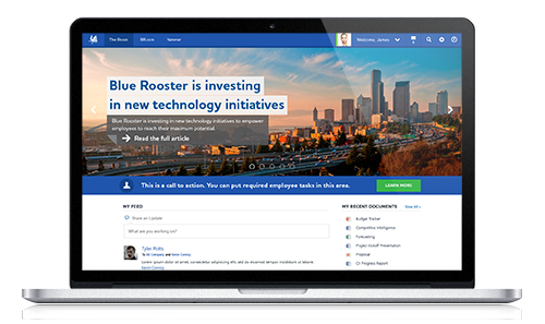 Blue Rooster Intranet